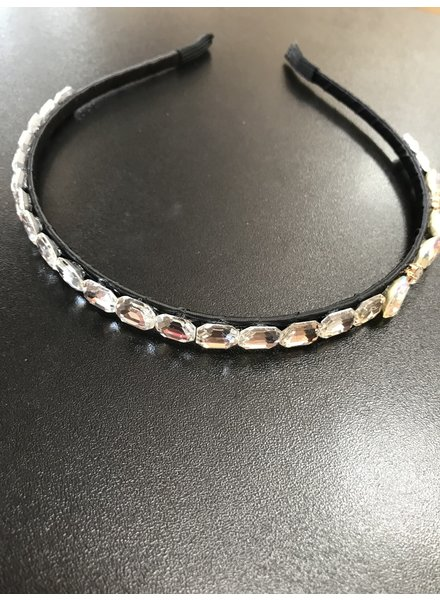 Slim diamante headband HB6