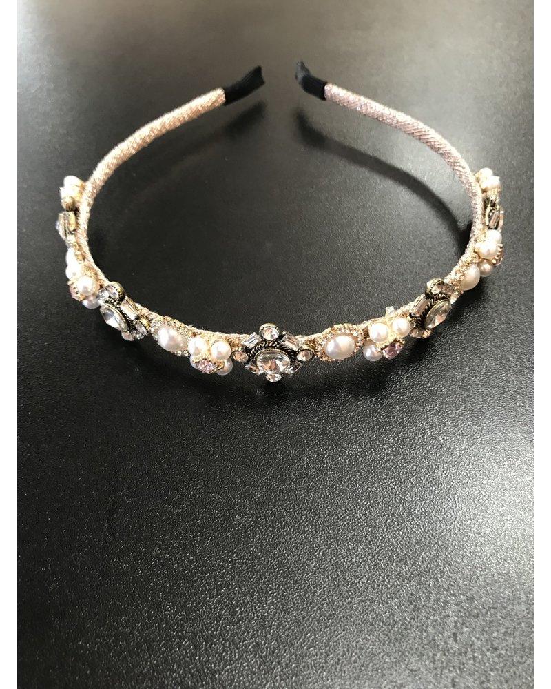 Slim diamante headband HB6