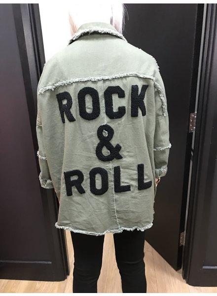 Rock & Roll denim shirt
