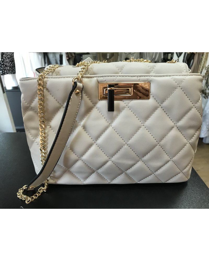 Nicola Quilted Shoulder Bag