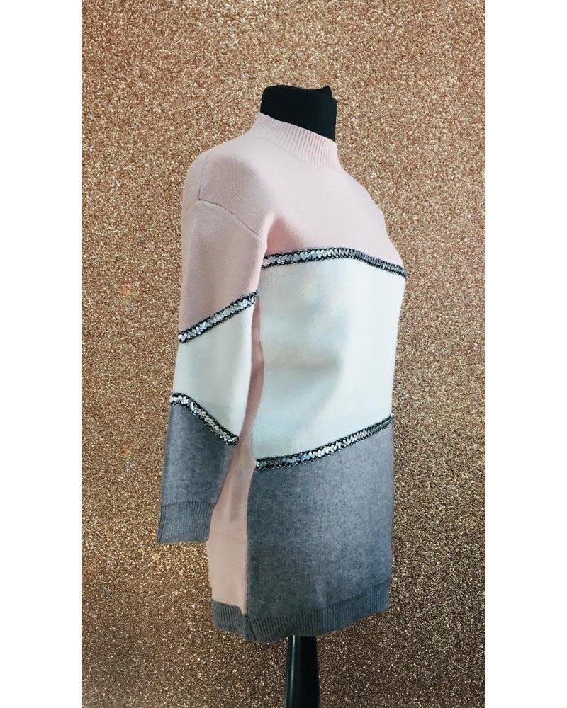 Jeanie knitted jumper dress