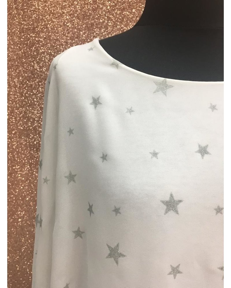 Bella glitter print top