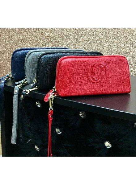 Gina clutch bag
