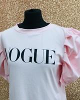 Puff sleeve vogue T-Shirt
