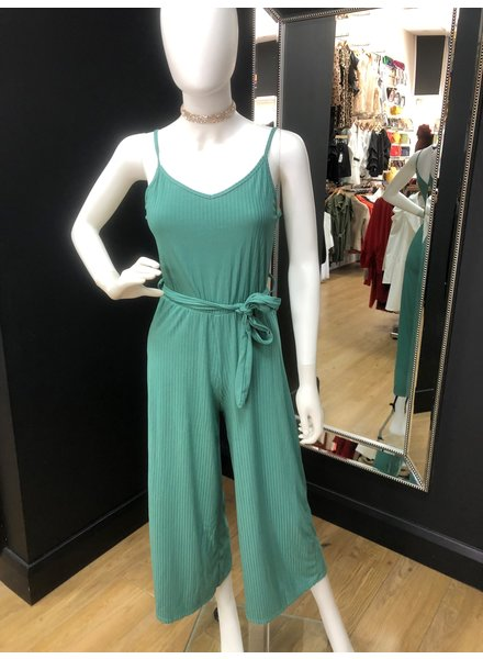 Carla casual ribbed jumpsuit