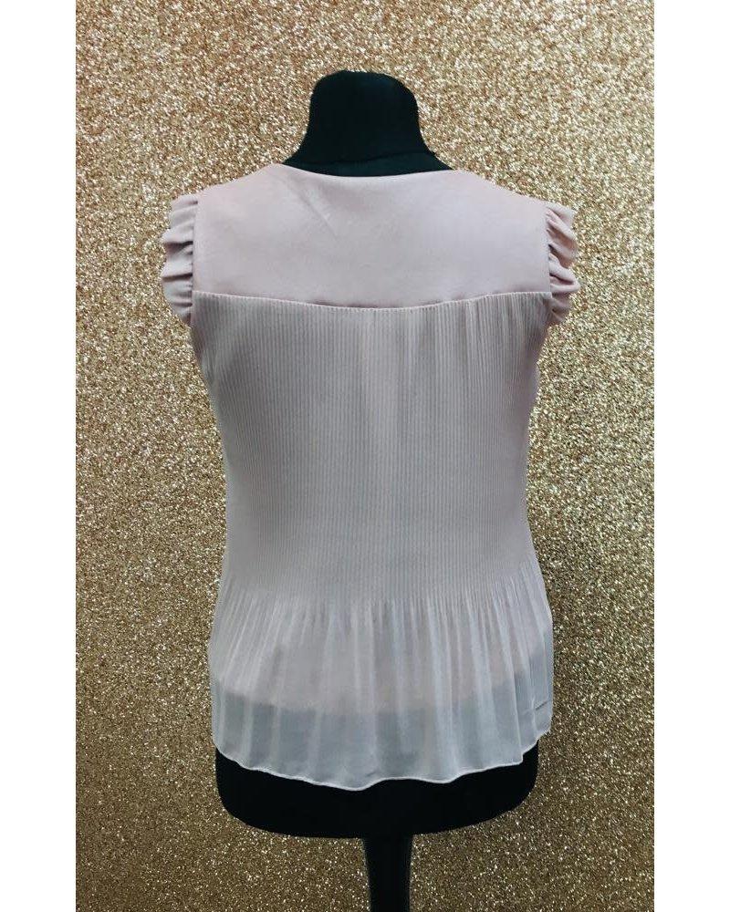Chelsea pleated sleeveless top