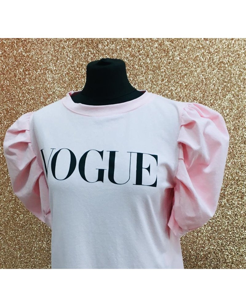 Puff sleeve vogue T-Shirt