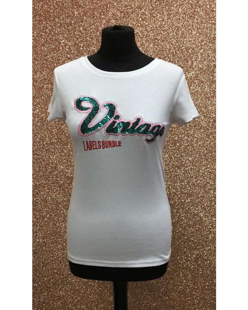 Vintage slogan T-shirt