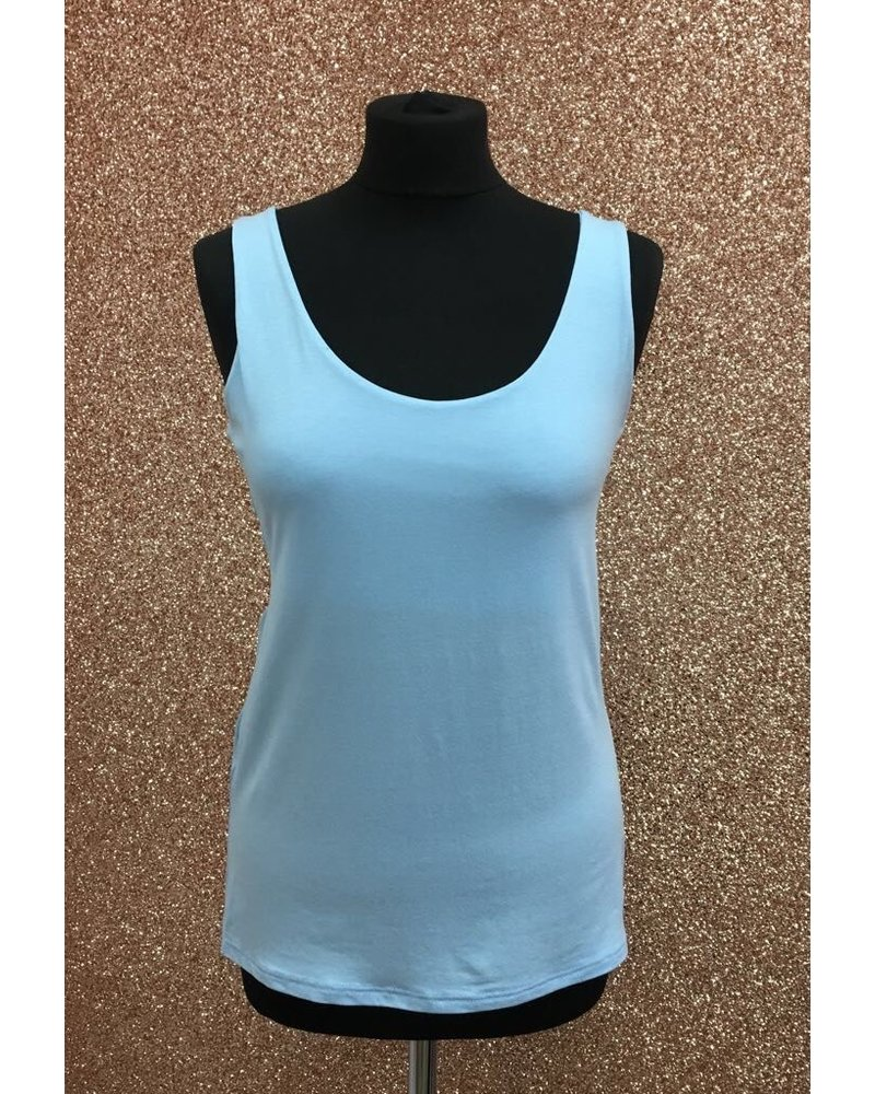 Summer Round Neck Vest Top