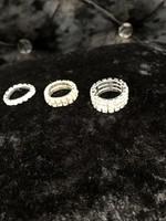 Diamanté stretch ring
