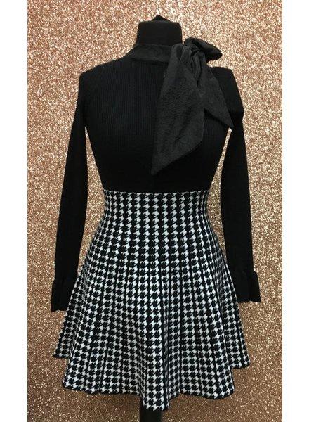 Harriet High waisted Pleated Skater skirt