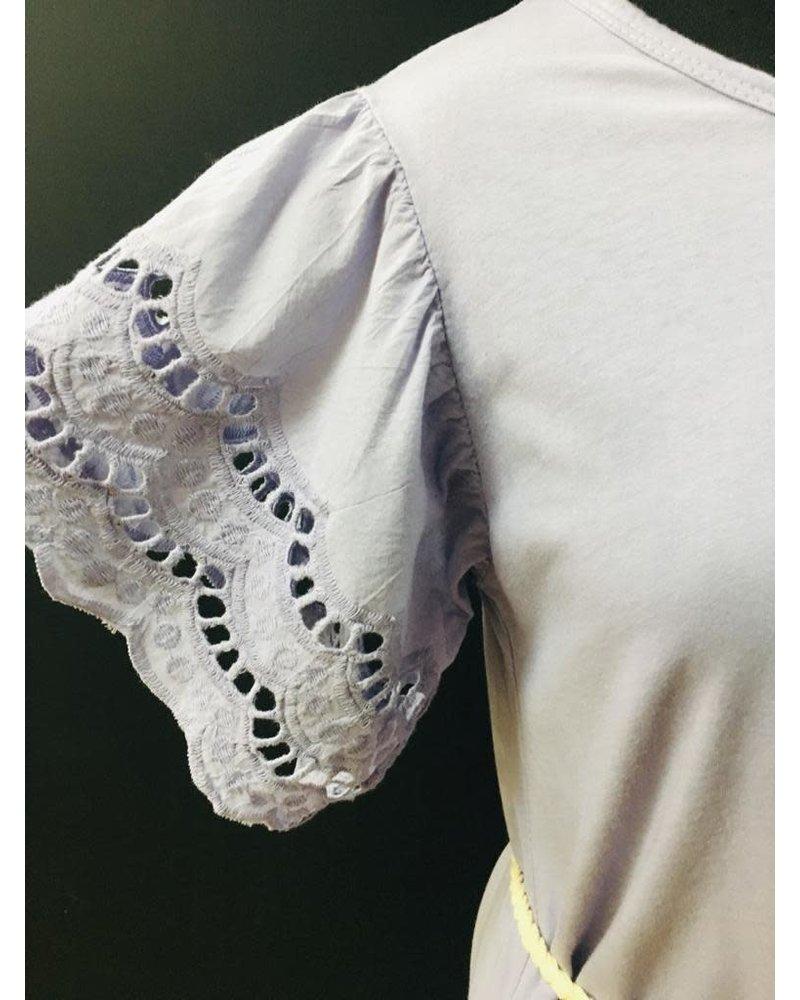 Jodie crochet arm dress