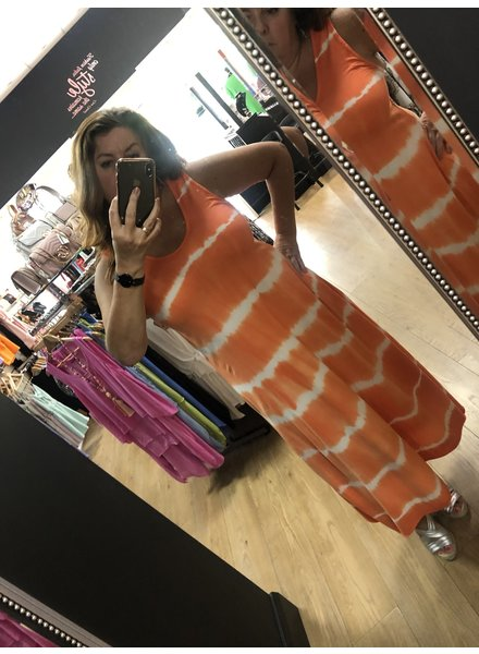 Tina tie dye maxi dress