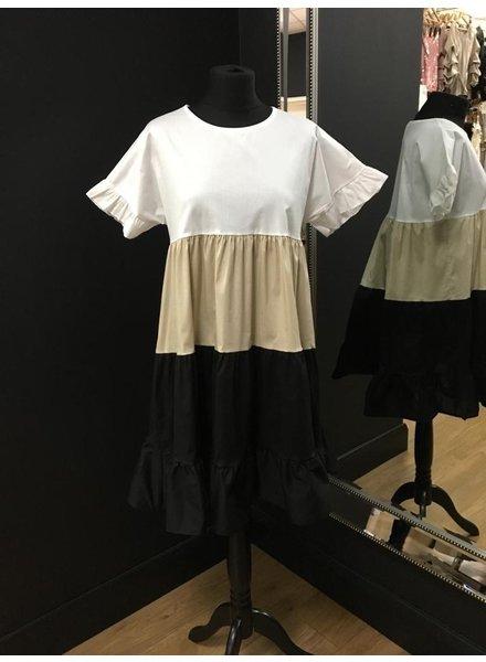 Sharice tiered dress
