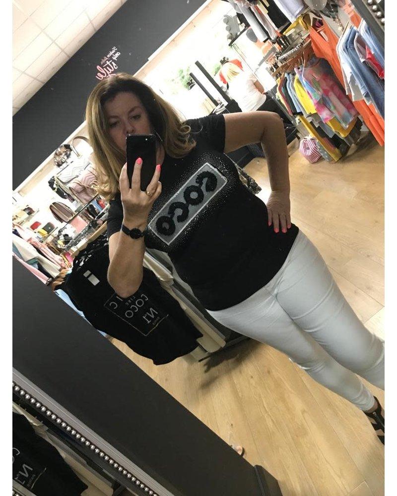 Coco diamanté T-Shirt