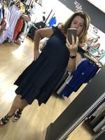 Mia tiered bardot dress