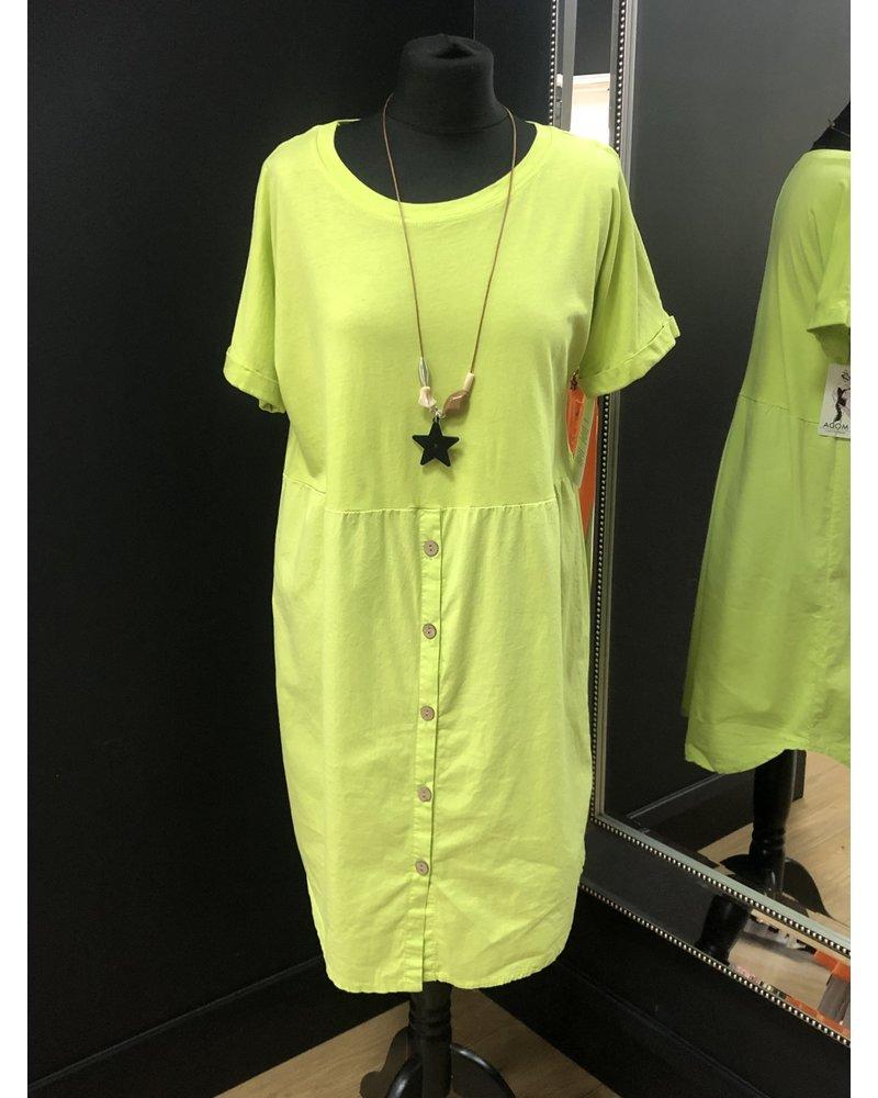 Bunty button dress