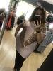 Sequin embellished long V Top