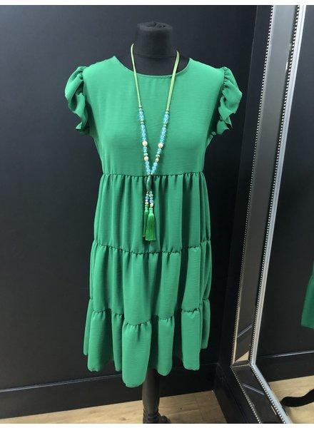 Sharelle panel swing dress