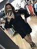 Petal ruffle sleeve dress
