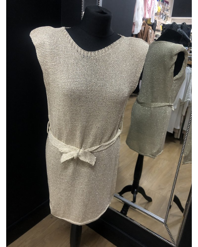 Sophie metallic tunic