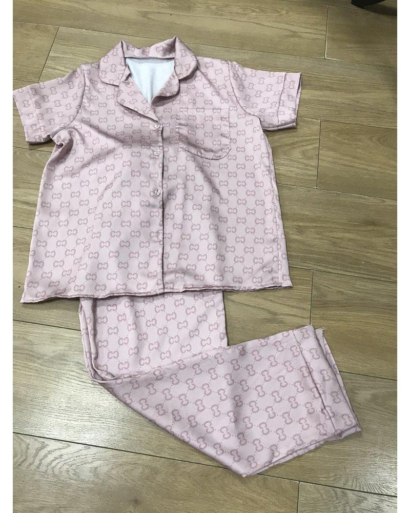 Luna silky pyjamas