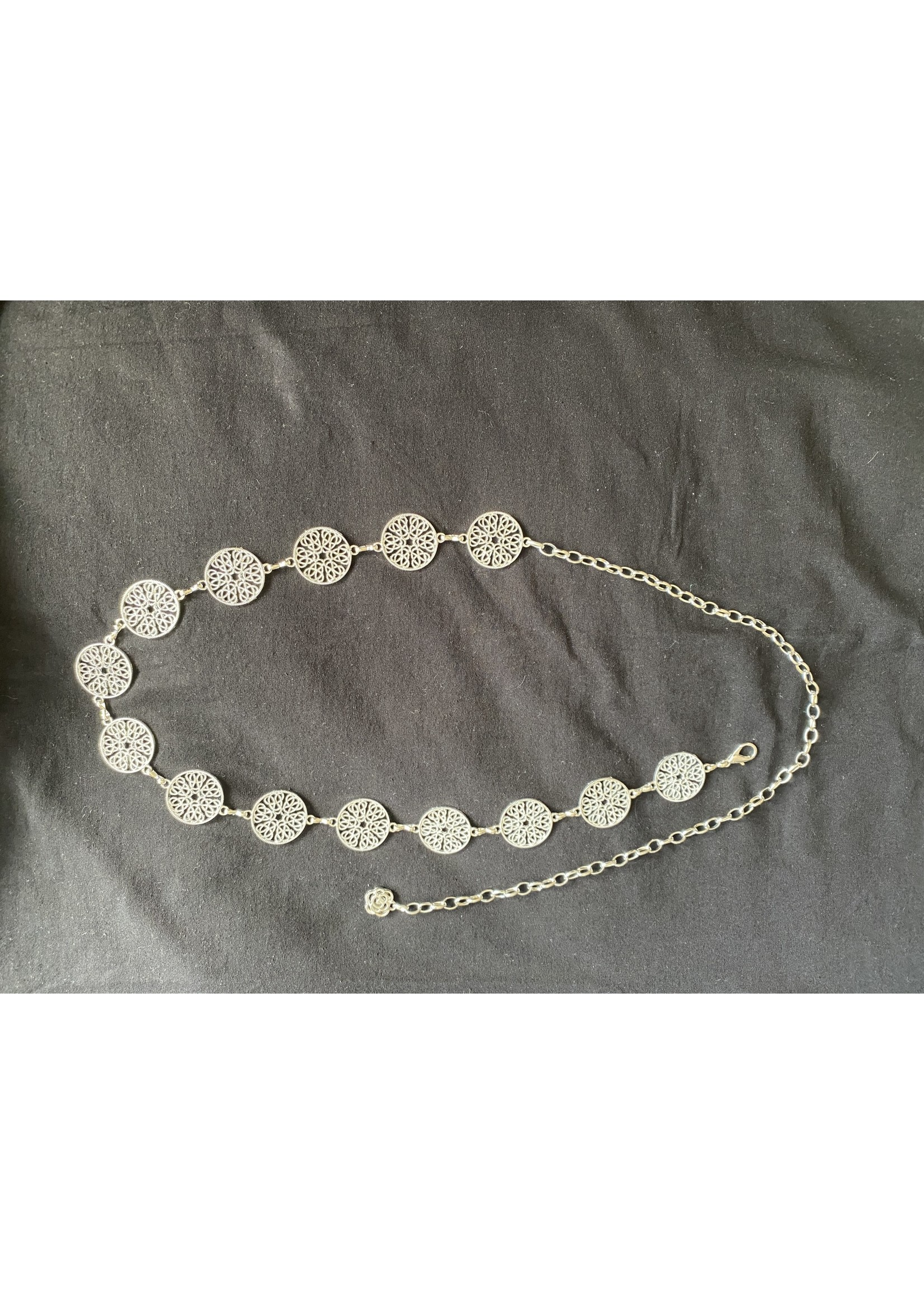 Circle chain belt