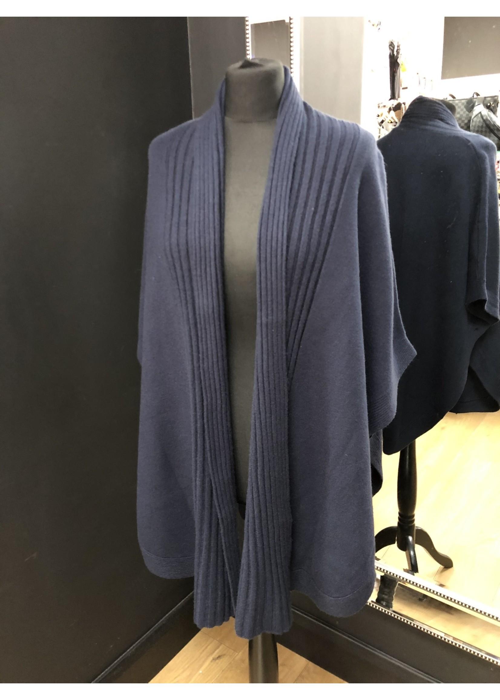Sonia edge to edge sleeveless  cardigan