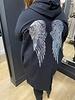 Angel sequin parka