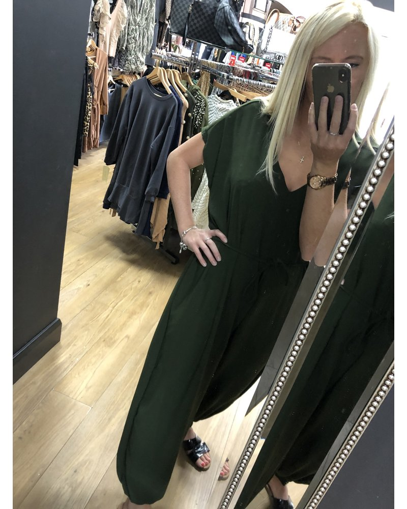 Jenny cuff leg jumpsuit