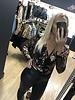 Eva crossover sequin bodysuit