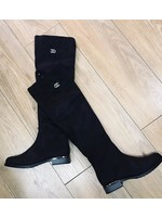 Cee Cee long suedette boot
