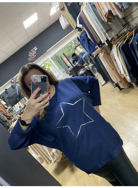 Helena star casual sweatshirt