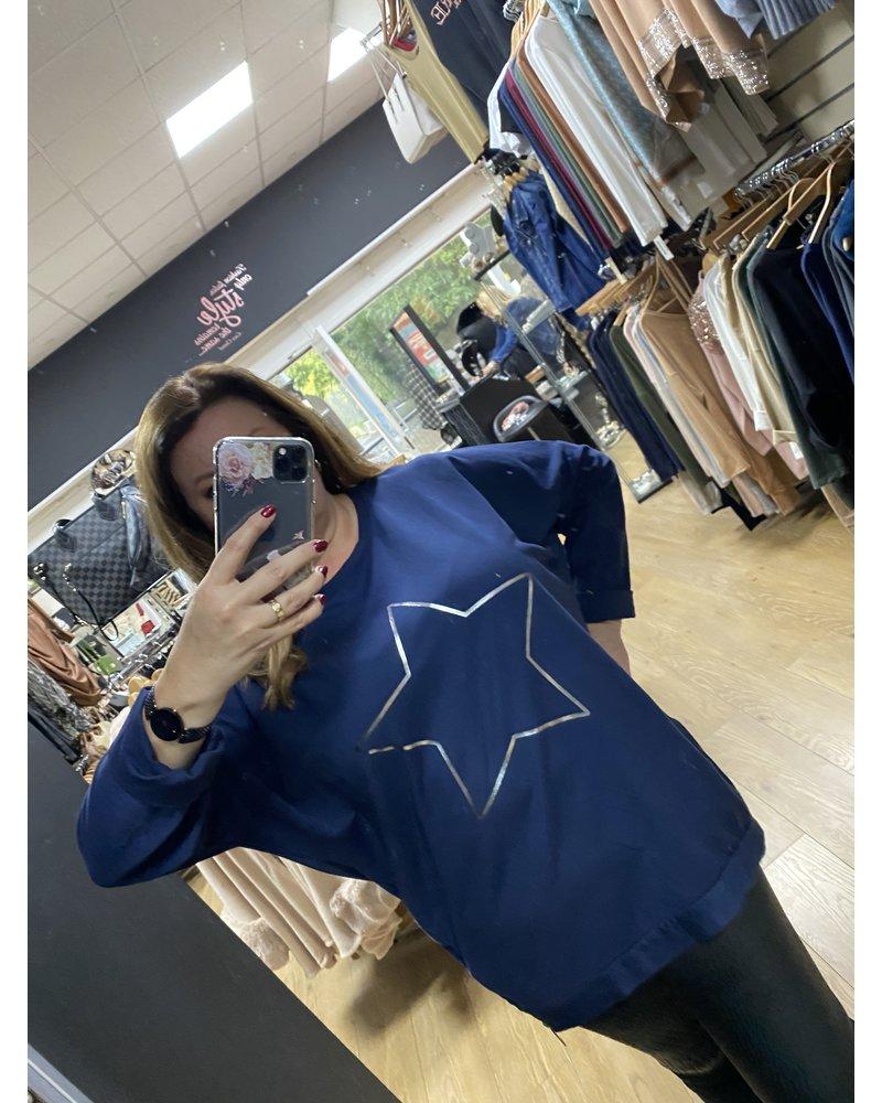 Helena star casual sweatshirt