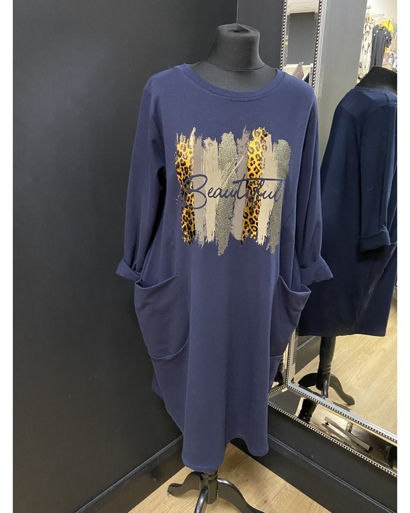 Beautiful sweatshirt dress