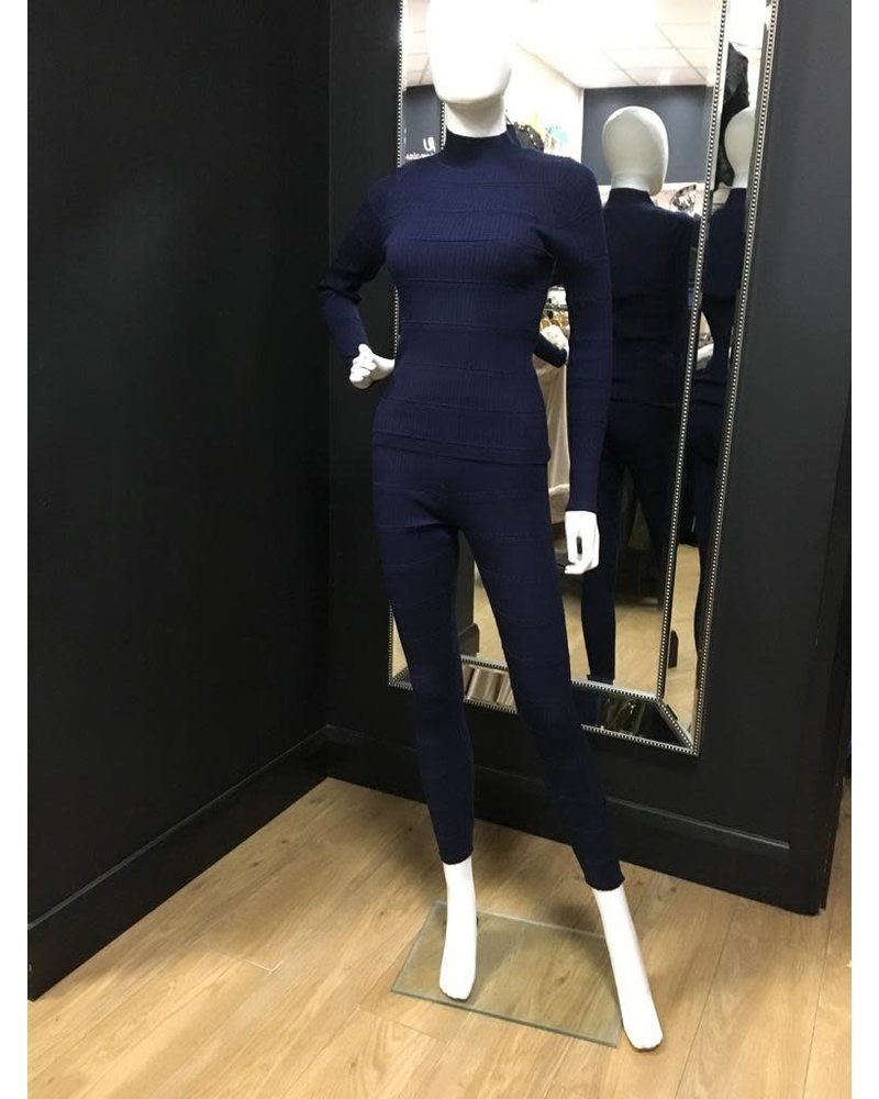 Fifi ribbed lounge suit