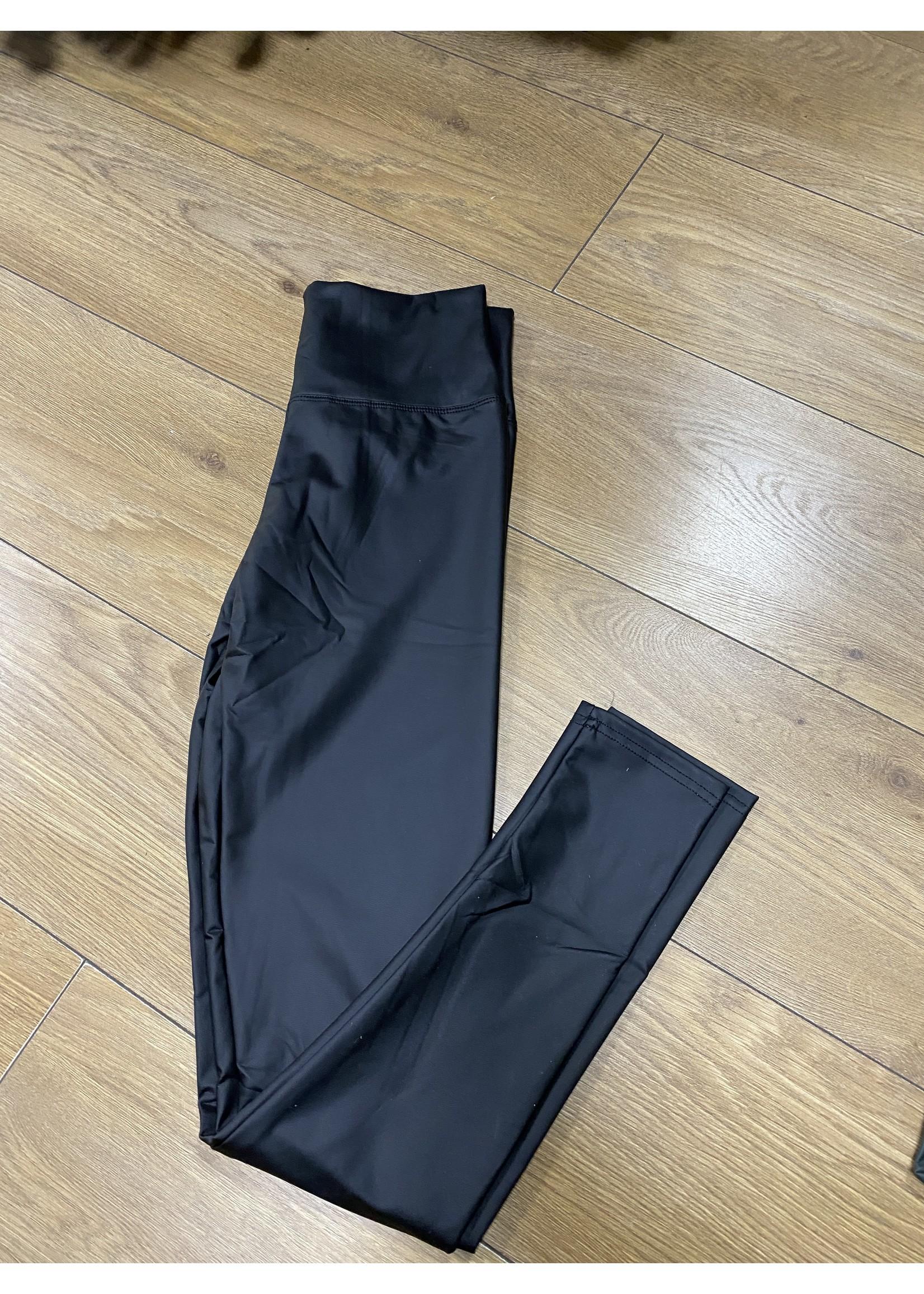 Vanessa leather look leggings