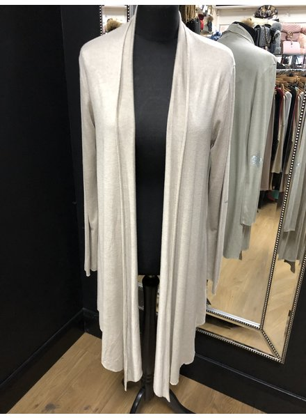 Saffy soft knit longline cardigan