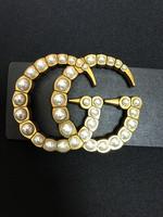 GG pearl embellished belt