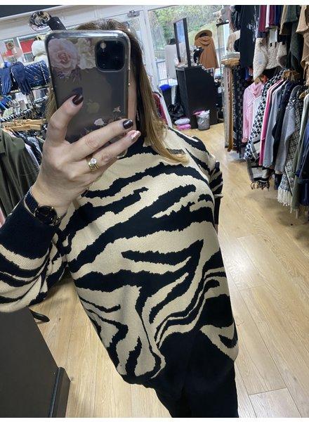 Zena zebra  jumper dress