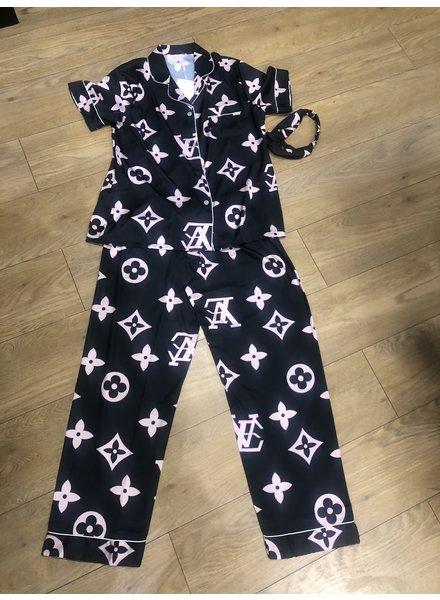 Louis luxury 3 piece pyjama