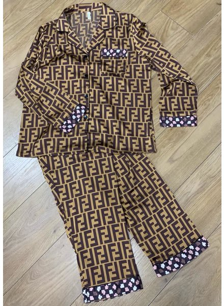 Fi designer inspired pyjamas