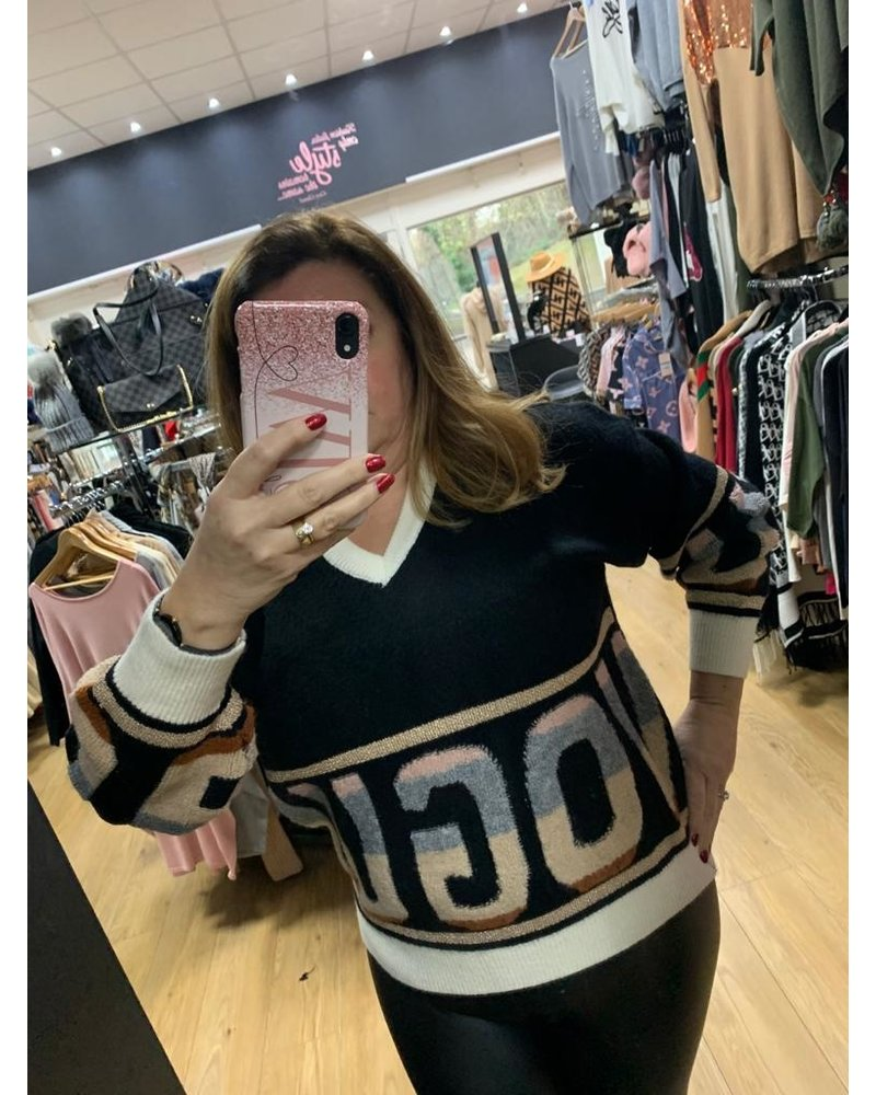 Varsity vogue jumper