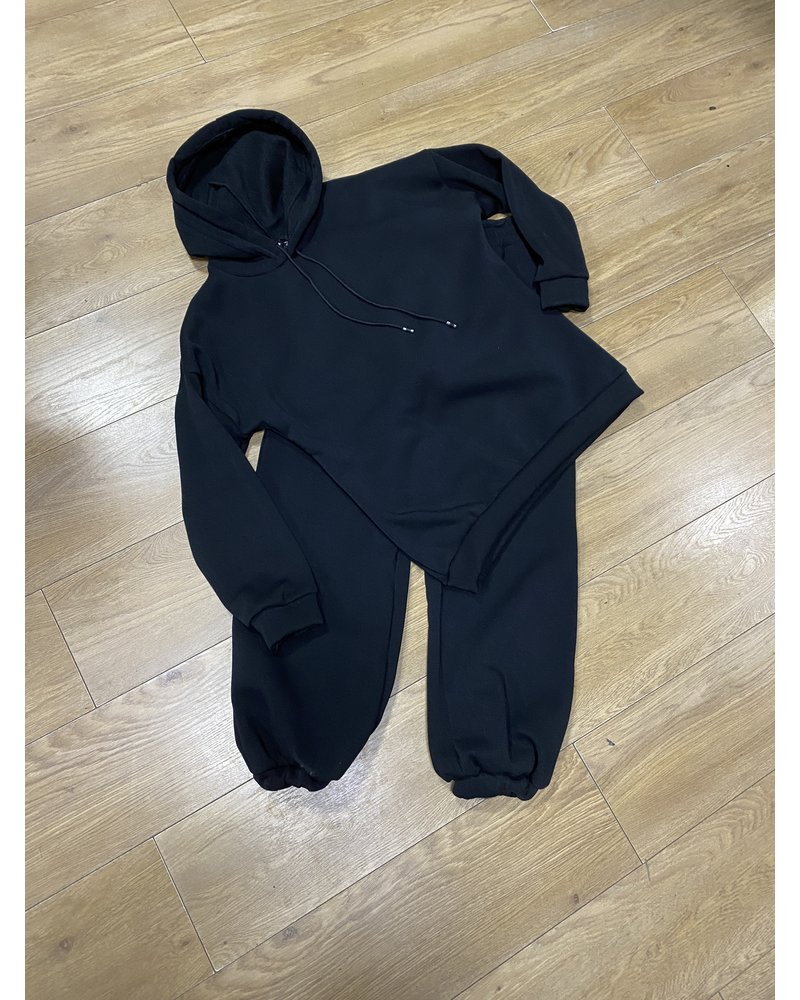Janey hooded loungesuit