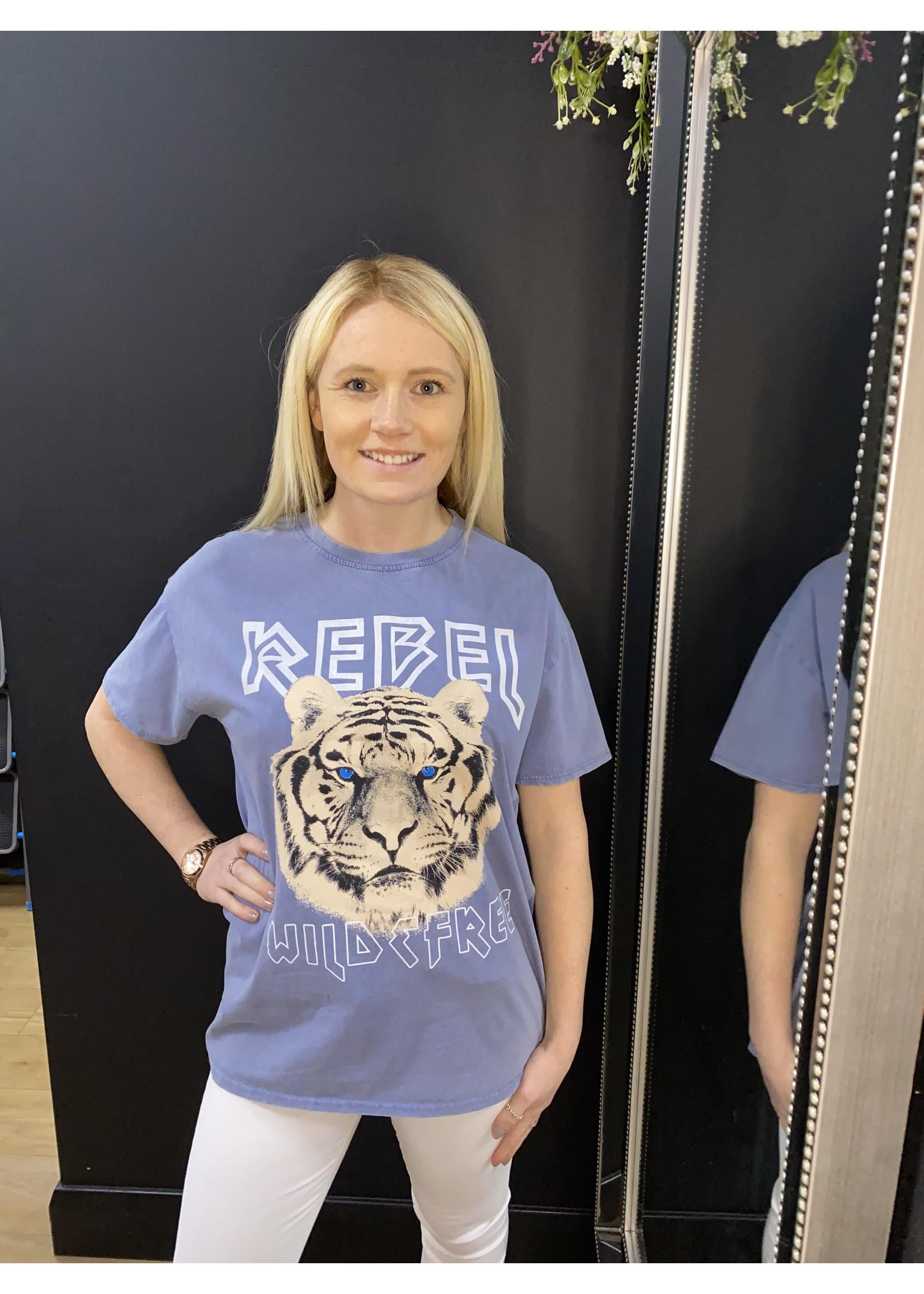 Rebel tiger T Shirt