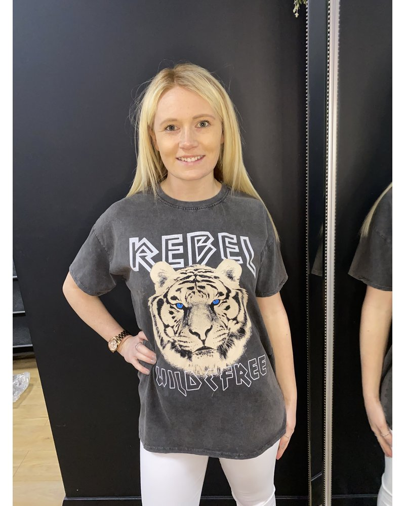 Rebel tiger T Shirt