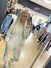 Chelsea gold button hooded loungesuit