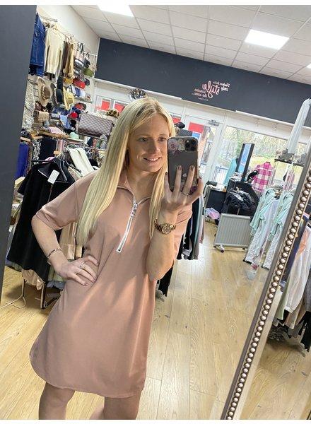 Kerry casual zip up  dress
