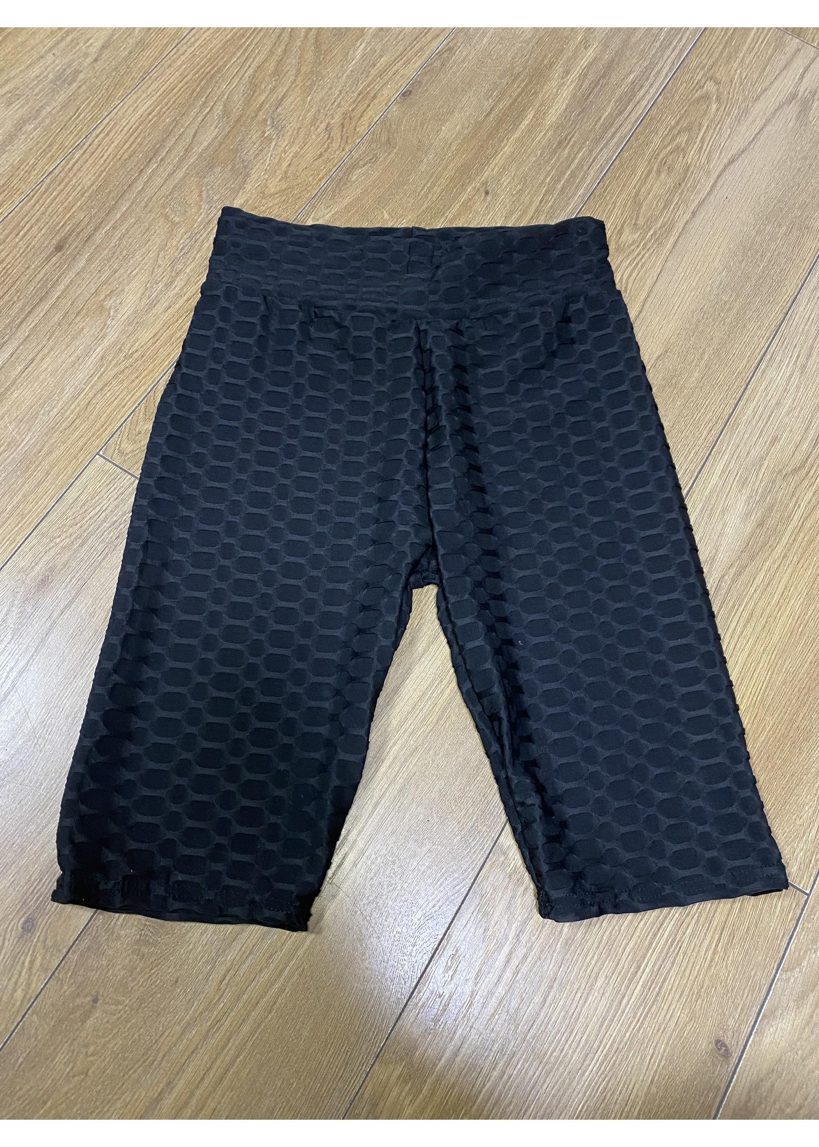 Waffle cycling shorts