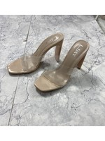 Heavenly clear sandals